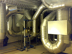 Balansert ventilasjon rengjøring